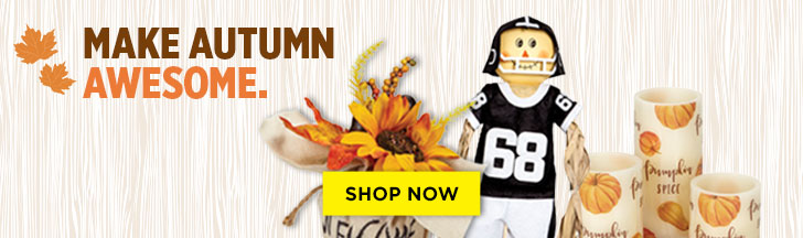 Make Autumn Awesome. Shop Now