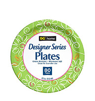 Summer Plate 8in