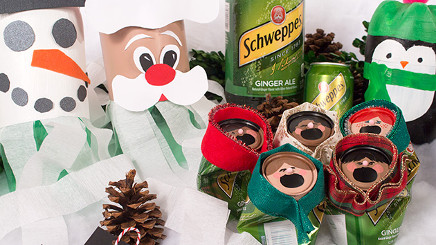 Crafts you can make with cans and bottles