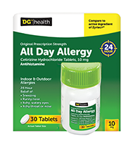 DG All Day Allergy tablets