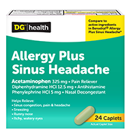 DG Allergy Sinus Headache