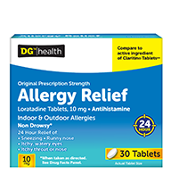 DG Allergy Relief 30ct