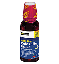 Nighttime Cold and Flu Relief Cherry