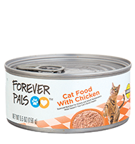 Forever Pals Cat Food with Chicken