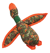 Camo Duck Dog Toy