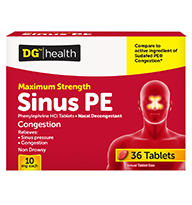 Maximum Strength Sinus PE