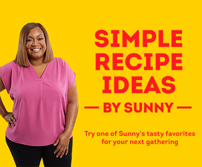 Sunny Anderson's Easy Summer Meal Solutions. Find quick, easy, affordable recipes!