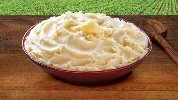 Garlic Mashed Potatoes & Cauliflower