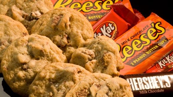 Chocolate Bar Surprise Cookies Recipe